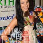 Tamerin-Jardine,-Miss-Earth-South-Africa-will-compete-in-this-traditional-Ndebele-inspired-national-costume-in-Manila,-Philippines