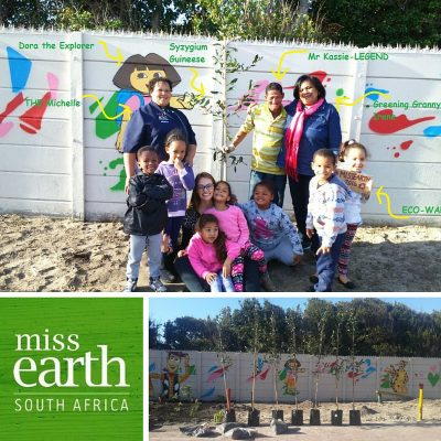 Tree Planting at Grassy Park Nursery School